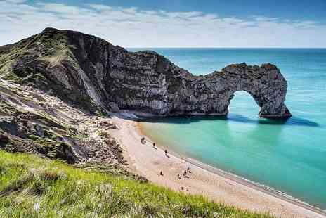 Lets Travel Services - Luxury 10 hour coach tour of Durdle Door and Bournemouth - Save 29%
