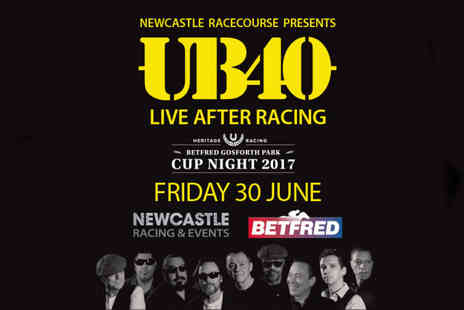 Newcastle Racecourse - Ticket to an evening at the races with a live UB40 performance on 30th June - Save 0%