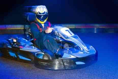 Alvar Karting & Laser Centre - 50 Laps of Indoor Karting for One, Two or Four with Optional Two Games of Laser Tag - Save 0%