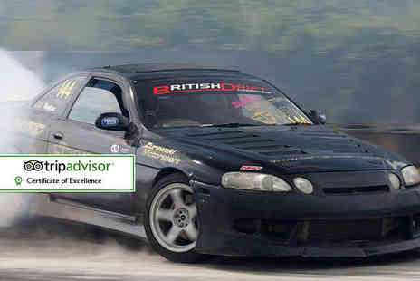 Flatout Factory - Drifting experience for one - Save 70%