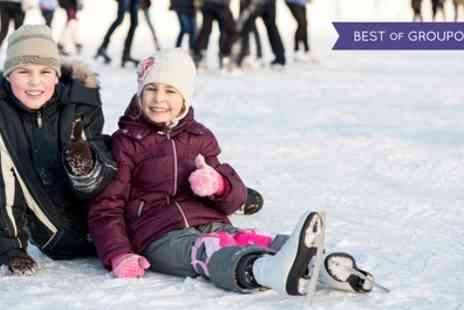 Planet Ice - Entry and skate hire for one - Save 33%