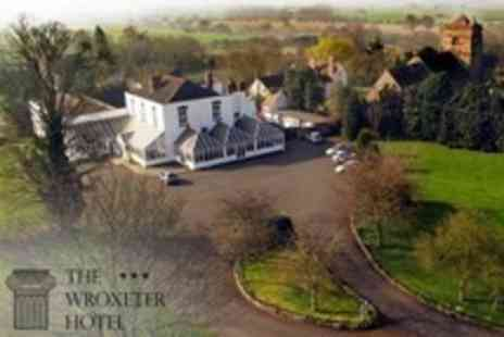 The Wroxeter Hotel - Two Night Stay For Two With Sixteen Dish Roman Banquet and Breakfast - Save 52%