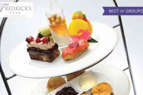 Fredricks Hotel and Spa - AA Rosette Traditional Afternoon Tea with Prosecco for Two or Four - Save 48%