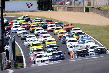 Activity Superstore - Choice of motorsport event ticket for a family of five - Save 0%