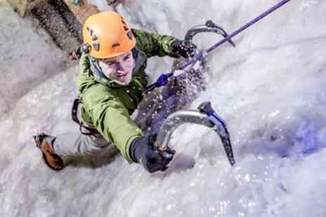 Vertical Chill - Introductory Ice Climbing Session for One or Two - Save 36%