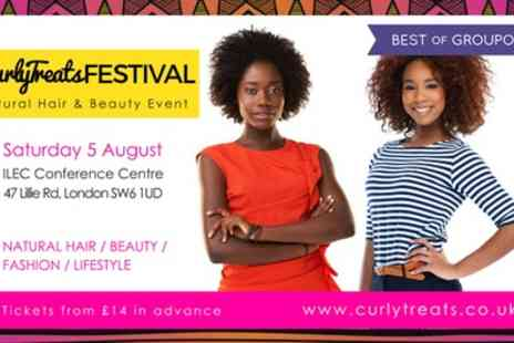 Curly Treats Natural Hair Festival - Tickets to CurlyTreats Festival on 5 August - Save 47%