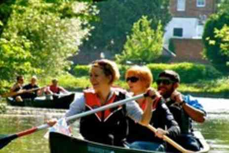 Back of Beyond Adventures - 2 Hour Canoeing experience on the River Thames - Save 65%