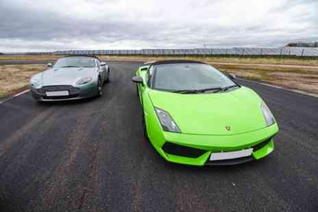 Top UK Race Tracks - Double Supercar Thrill - Save 38%