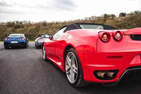 Top UK Race Tracks - Triple Supercar Thrill - Save 42%