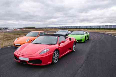 Top UK Race Tracks - Four Supercar Thrill - Save 44%