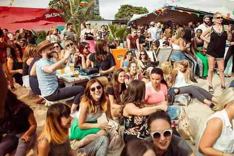 Brixton Rooftop - Entry to Brixton Beach with three cocktails - Save 33%