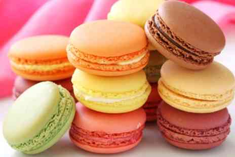 The Costa Cupcake Company - Box of Six or Twelve Macarons - Save 33%