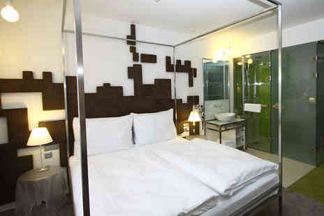 Pure White Hotel - Four Star Modern Design Stay For two in Historic Surroundings - Save 77%