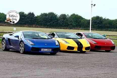 Experience Limits - Three lap Lamborghini driving experience - Save 0%