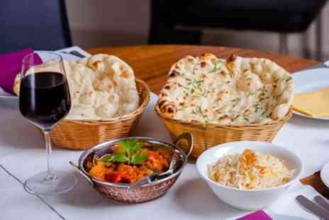 Two States - Two Course Indian Meal with Sides for Two or Four - Save 59%