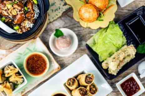 Ping Pong - Chinese Dim Sum Meal & Drink for 2 - Save 30%