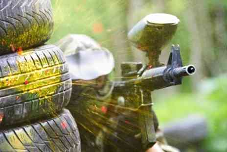 Mega Paintball - Paintball Experience For Up to 20 People With 100 Paintballs Each - Save 92%