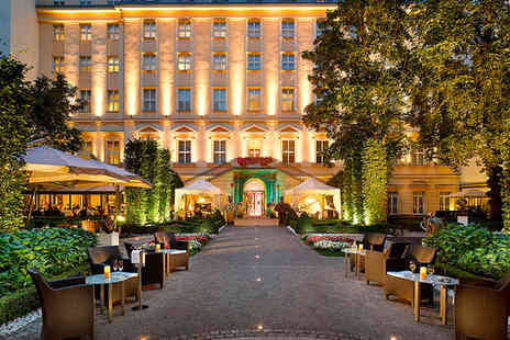 The Grand Mark Prague - Five Star Baroque Luxury Stay For two in City Centre - Save 68%