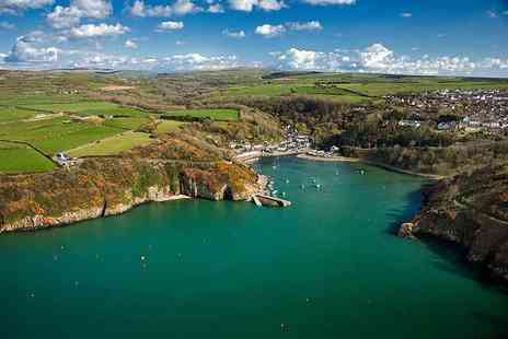 Fishguard Holiday Park - Three or four night Pembrokeshire coast caravan break for up to six people - Save 44%