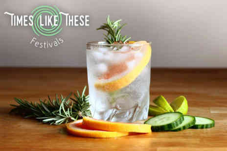 Times Like These Festivals - Ticket to The Times Like These Gin Festival on Saturday 15th July - Save 48%