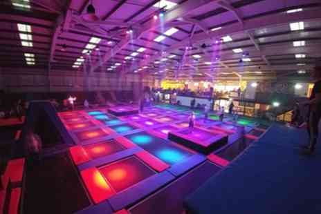 Energi Trampoline Park - Trampoline Jumping Session for One or a Family - Save 0%