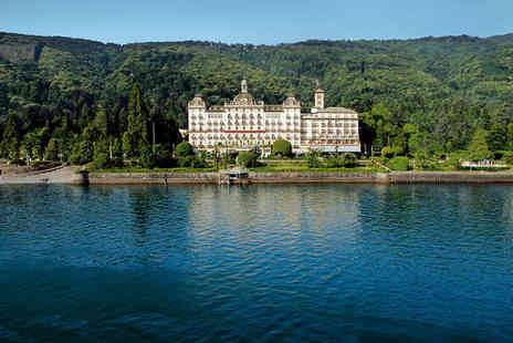 Grand Hotel Des Iles Borromees - Five Star Luxury Lake side Spa Hotel Stay For Two - Save 68%