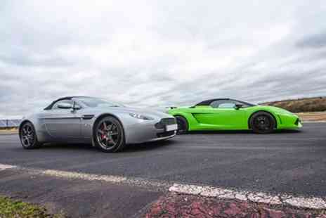 Top UK Race Tracks - Double Supercar Blast - Save 43%
