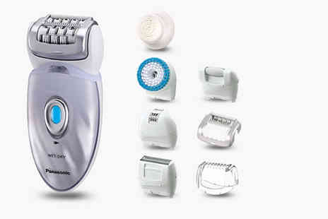 Hanaco - Panasonic ES ED96 8 in 1 epilator - Save 40%