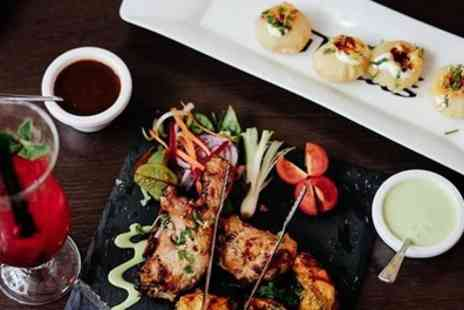Bombay Brasserie - Three Course Indian Meal with Optional Drinks for Two, Four or Six - Save 37%