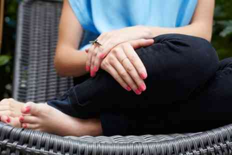 Arcadia Beauty Spa - Shellac Manicure, Pedicure or Both - Save 53%