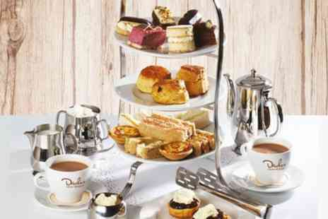 Druckers Vienna Patisserie - Afternoon Tea for Two or Four and an Optional Treat Box to Takeaway - Save 31%
