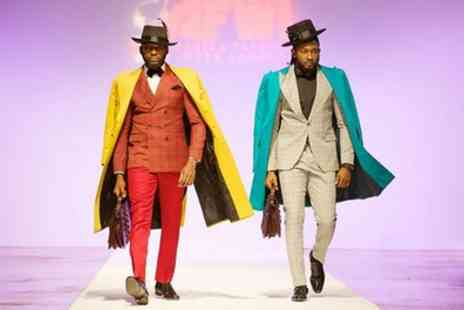 Africa Fashion Week - One standard or VIP ticket to Africa Fashion Week London on 11 To 12 August - Save 35%
