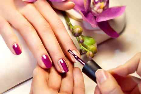 Lily Hair & Beauty - Shellac manicure - Save 30%