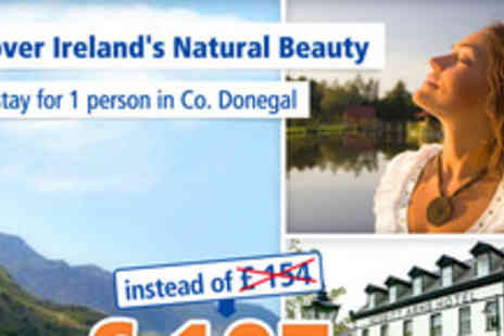 Nesbitt Arms Hotel - Irish charm in Ardara & Donegal 3 days for 1 person - Save 31%
