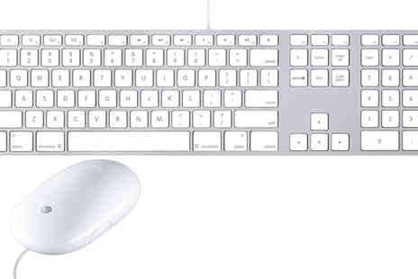 JMN Business Solutions - Apple Usb Keyboard A1243 and Mighty Mouse MB112ZM/C - Save 13%