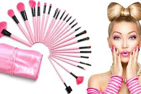 Beauty Fit - 24pc Professional Make Up Brush Set - Save 63%