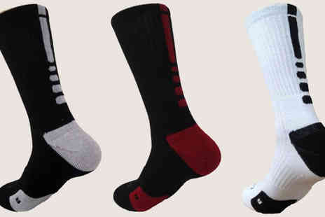 Beauty Fit - Thermal Compression Socks Choose From Three Colours - Save 65%