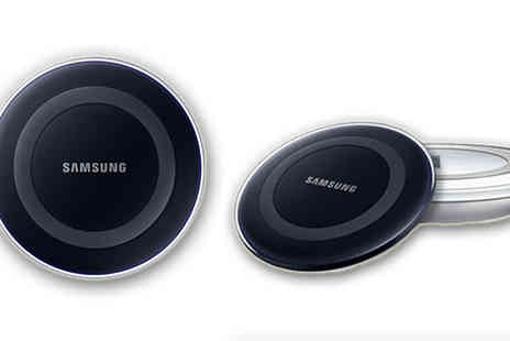 Refurb Phone - Samsung Wireless Charging Stand for S6 in Black or White - Save 65%