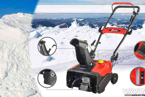 EveMotion GmbH - Petrol Snow Blower 3.0 HP - Save 63%
