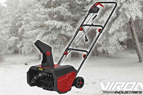 EveMotion GmbH - Viron Electric Snow Blower 1600W - Save 60%