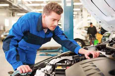 Colins MOT & Service - 54 point car service with an oil and filter change - Save 68%