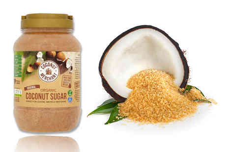 Coconut Merchant - Three 1KG jars of coconut sugar - Save 52%