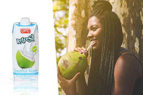 Coconut Merchant - Twelve 500ml bottles of coconut water - Save 41%