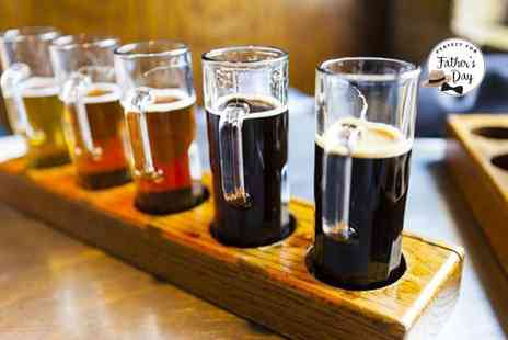 The Box Social Bar - Tutored beer tasting with five pints for two people - Save 50%