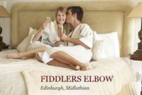 Fiddlers Elbow - In Edinburgh One Night Stay For Two With Dinner, Bottle of Prosecco and Breakfast - Save 56%