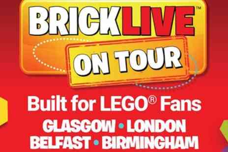 BRICKLIVE - One standard ticket or one ticket for two adults and two children to Bricklive on 20 July To 29 October - Save 15%
