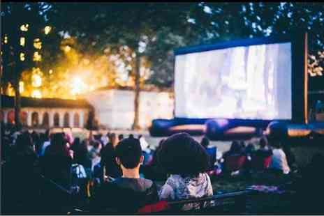 Pop Up Screens - Outdoor cinema ticket - Save 50%