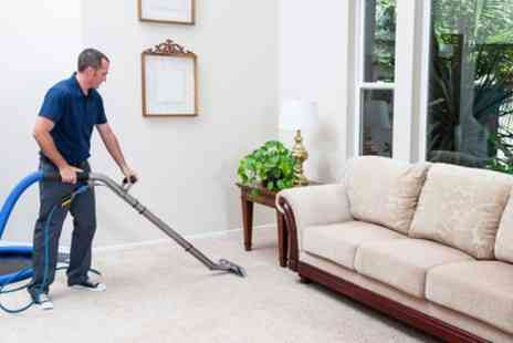 Nationwide UK Cleaning - Carpet Cleaning for Two Rooms - Save 55%
