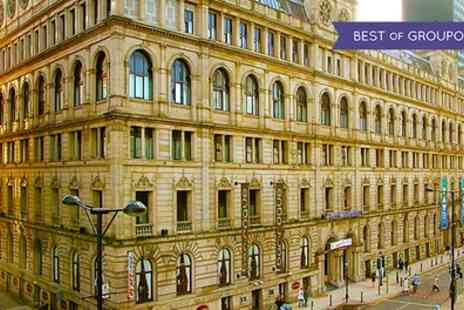 Britannia Hotel Manchester - One Night Stay for Two with Breakfast and Option for Dinner and Wine - Save 0%