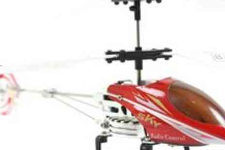 Genie Weenie - Remote control twin rotor helicopter - Save 64%